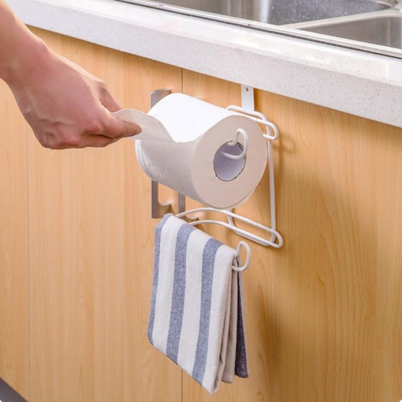 Double Rack Toilet Paper Holder