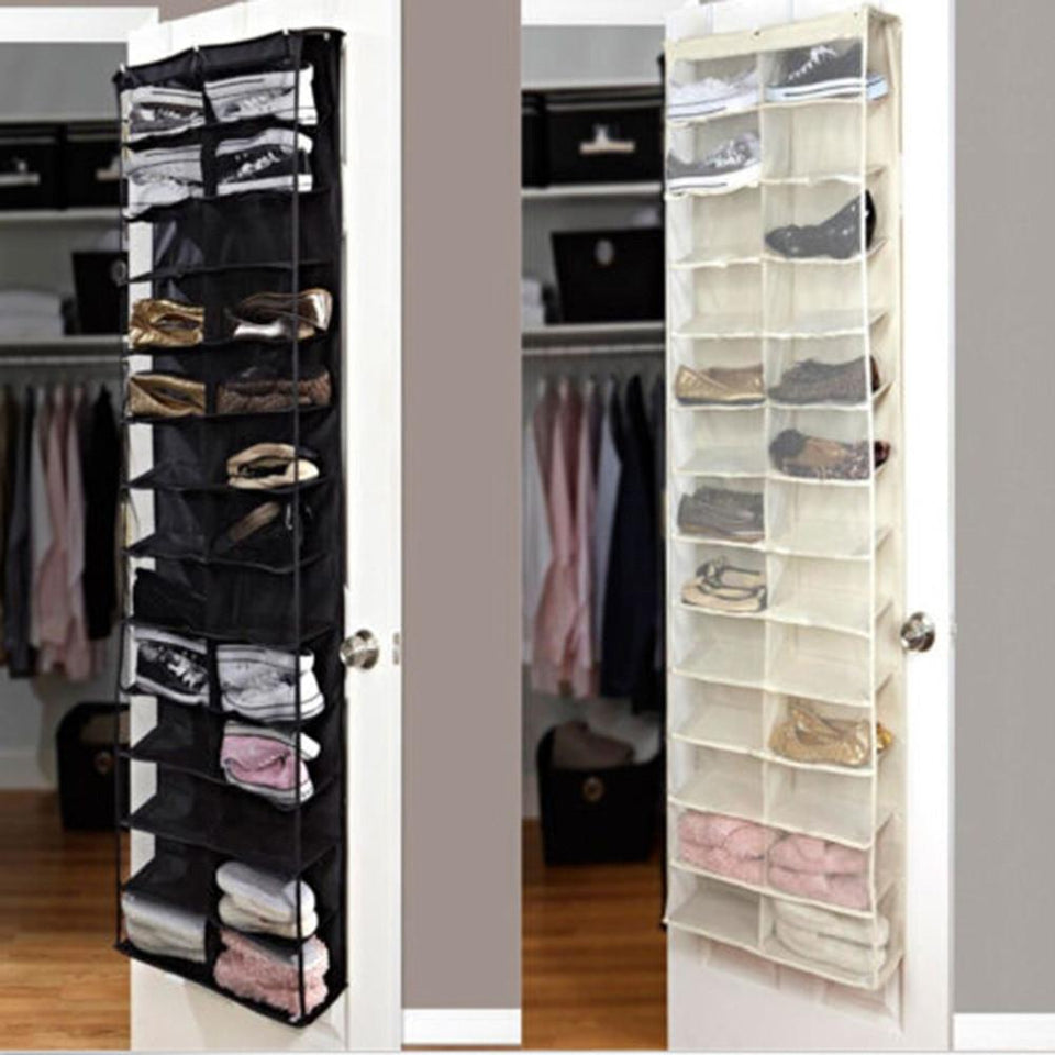 Towering Shoe Rack