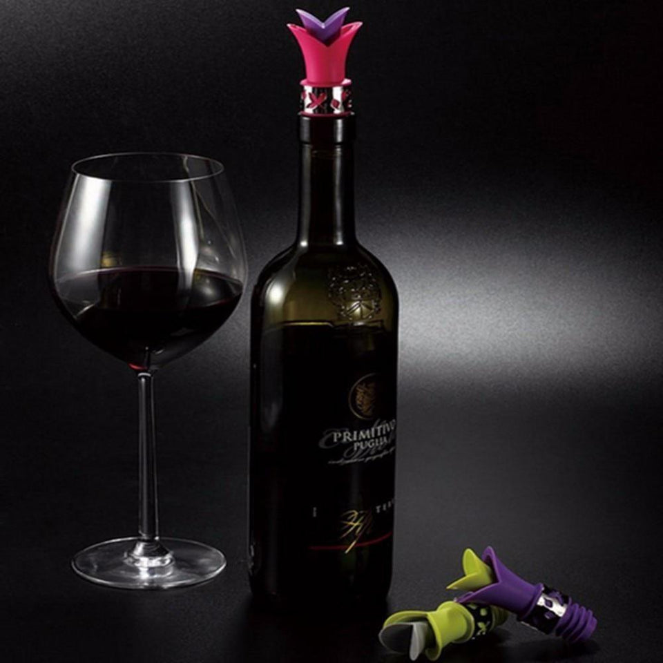 Wine Aeration Lily Cork