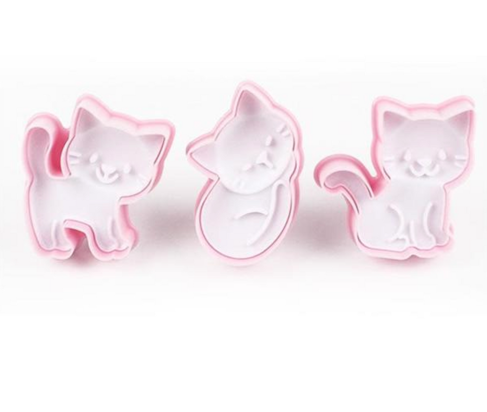 Kitty Cookie Cutter Set