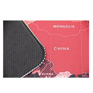 Colorful Map Mouse Pad
