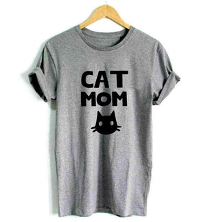 Cat Mom T-Shirt - HYGO Shop