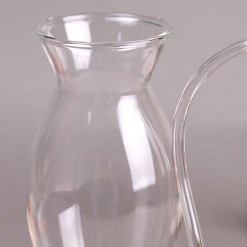 Artistic Goblet Glass Mug - 2pcs