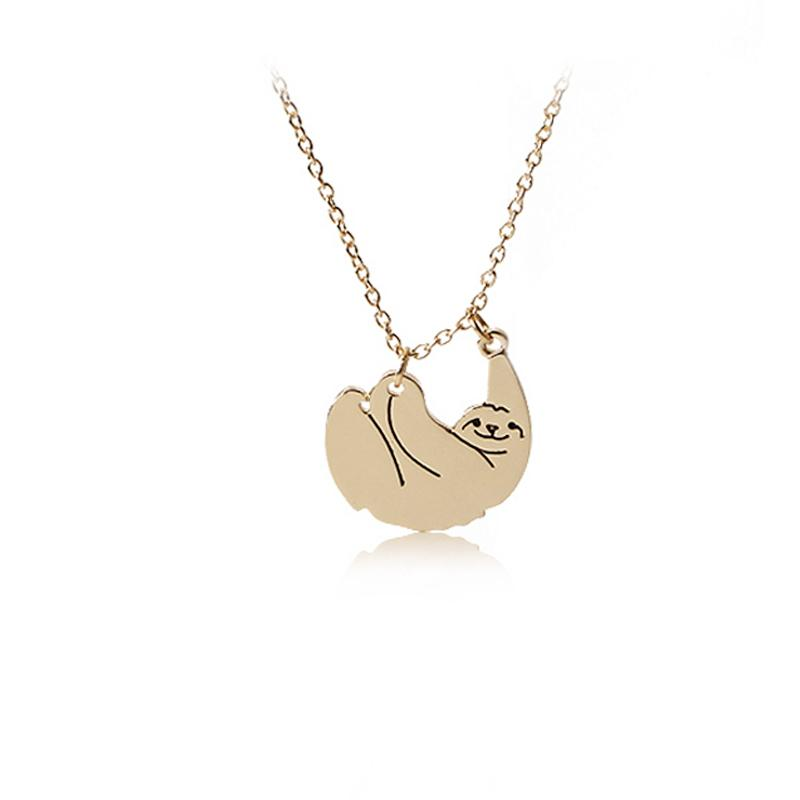 Sloth Wildlife Fashion Necklace
