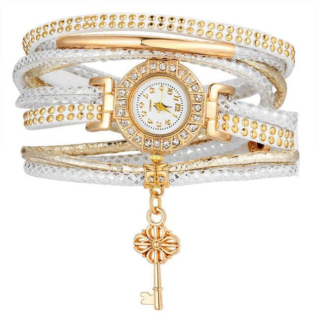 Fashion Crystal Lock Watch - HYGO Shop