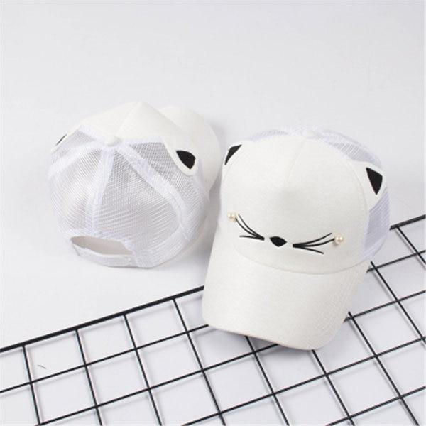 Cute Cat Ears Snapback - HYGO Shop
