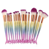 Mermaid Makeup Brushes - HYGO Shop