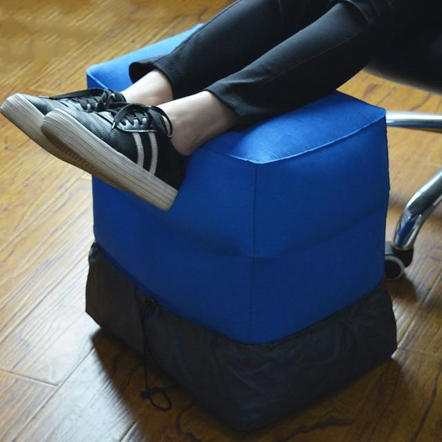 Inflatable Ottoman Foot Rest