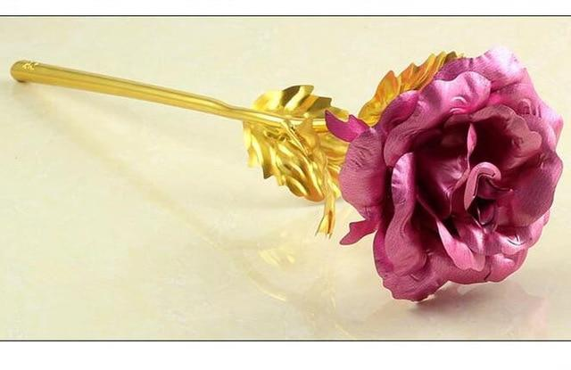 Gold Foil Plated Rose - HYGO Shop