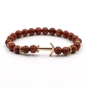 Anchored Stone Bracelet - HYGO Shop