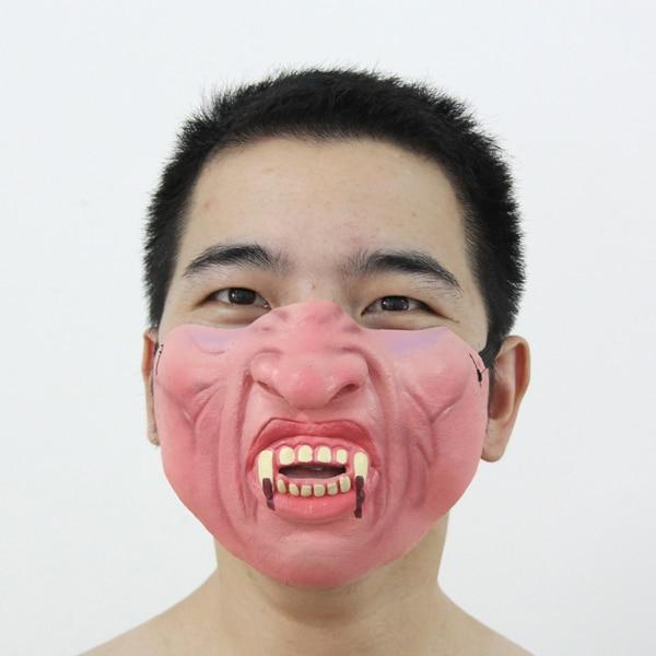 Half-Face Looney Mask