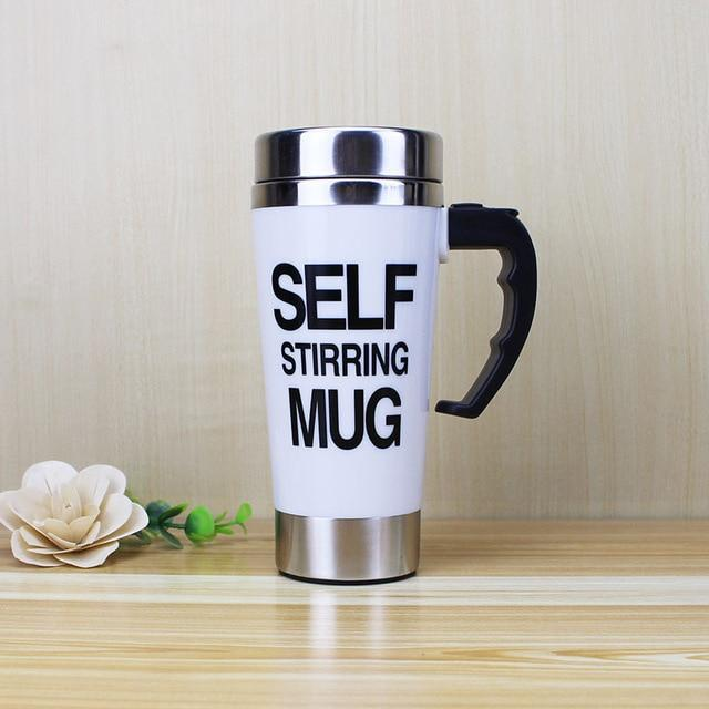 Tall Self-Stirring Mug