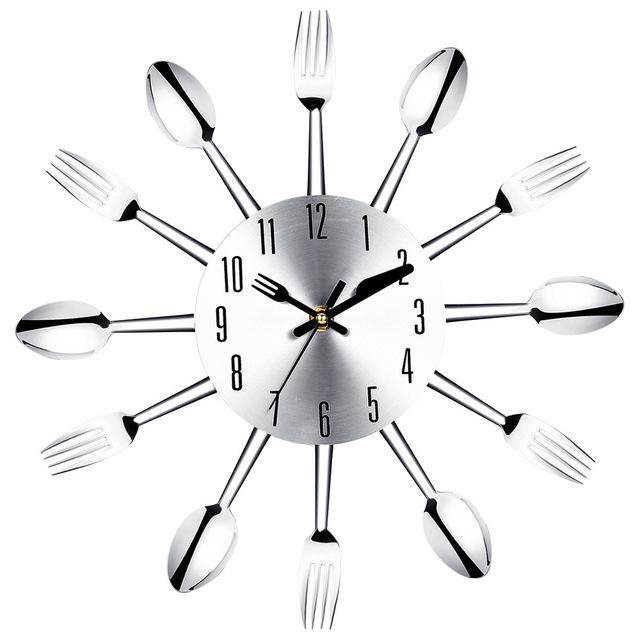 Utensil Clock