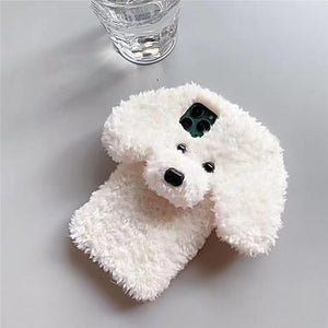 Fluffy Puppy Phone Case