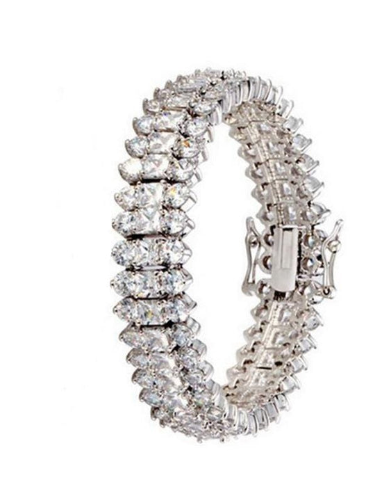 Large Luxury Diamond Bracelet