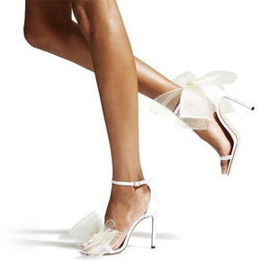 High Heels Bow Design Women Shoes