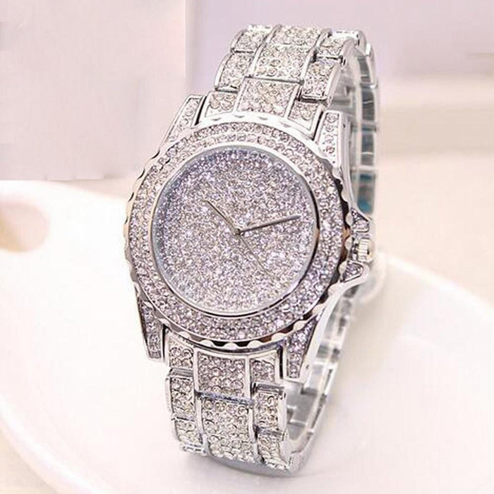 Luxury Diamond Rhinestone Bracelet Watch