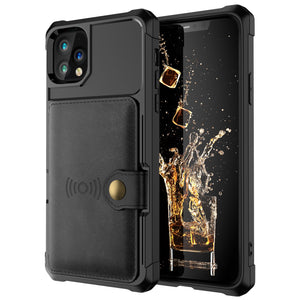 Fortune- Leather Wallet Case For iPhone 11, 11 Pro, Max