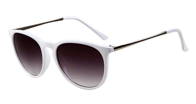DressUp Vintage Sunglasses | Polar White