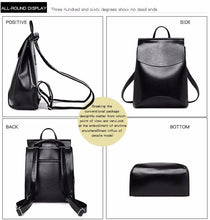 """Fashion de Paris"" Leather Backpacks"