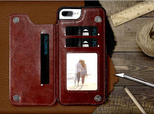 """LePragma"" Wallet Case For iPhone - Brown"