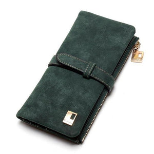 Long Design wallet - Green