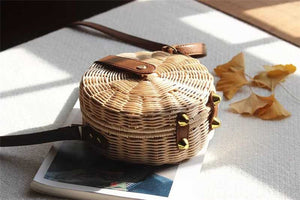 St-Tropez Straw Bag | Beach Handbag