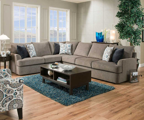 Grandstand 2pc Sectional