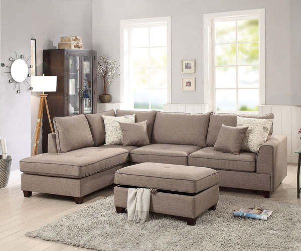 Regan 3pc sectional