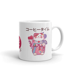 amazonetworks 11oz Japanese Cat Mug