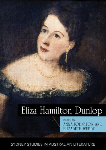 Cover of Eliza Hamilton Dunlop featuring a painted portrait of the author