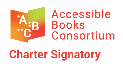 Logo of the Accessible Books Consortium Charter Signatory