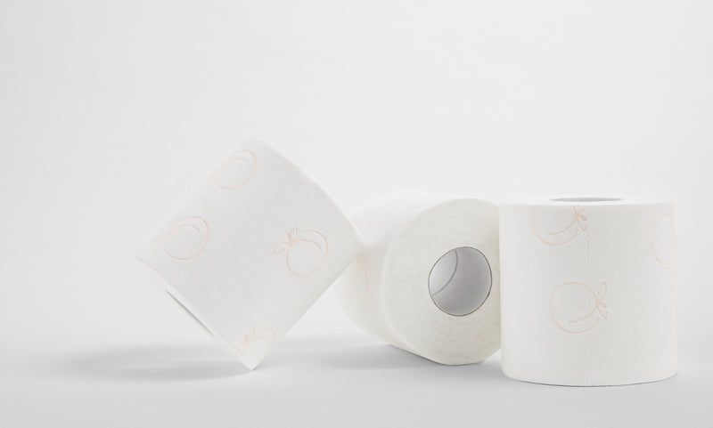 Three Rolls of Luxury Bath Tissue