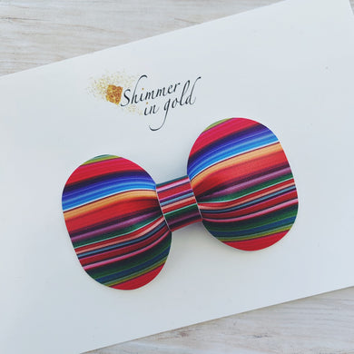 Serape Pinch Bow