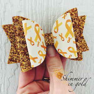 Childhood Cancer Harper Bow