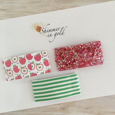 Apple Orchard Snap Clip Set
