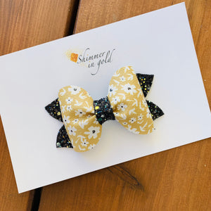 Autumn Floral Abby Bow