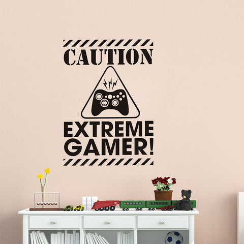 Sticker mural Extreme Gamer