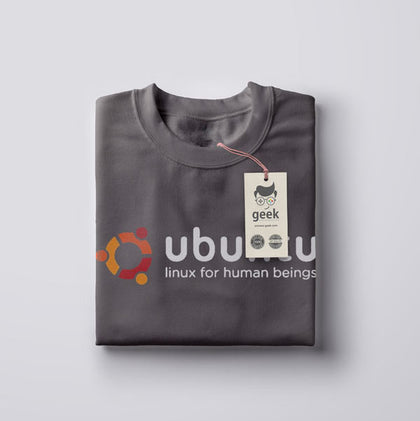T Shirt Geek Ubuntu