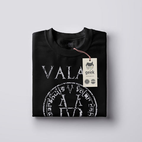T Shirt Game of Thrones | Valar Morghulis | Tout homme doit mourir