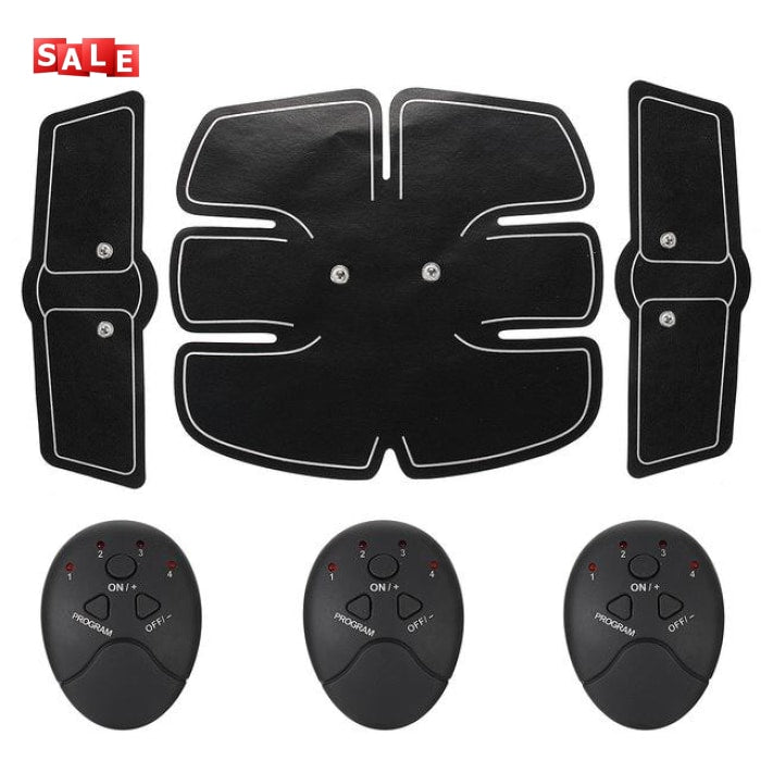 Sixpad Smart Abs Training Gear Body Exerciser Black / China