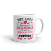 The Love Between A Grandma And Grandchildren - White Coffee Mug