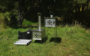 M.I.A Gear - Stainless Steel V2 400 Wood Stove