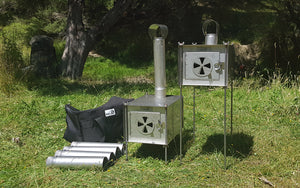 "M.I.A Gear - Westlander III and V2 Woodstove ""COMBO"""