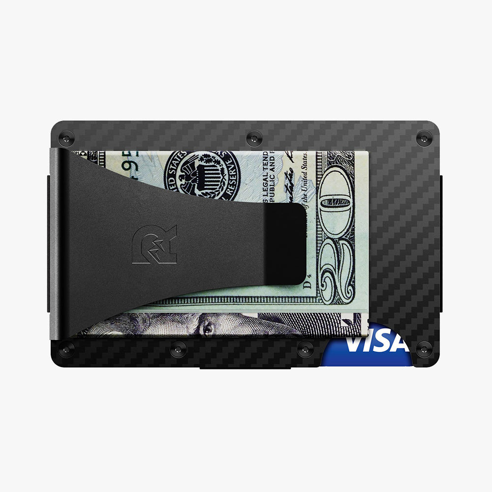 Carbon Fiber Wallet + Money Clip