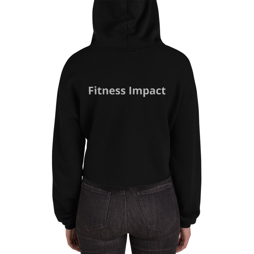 Women's Fashion Fitness Impact Crop Hoodie