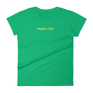 Women's Impact Cell Short Sleeve T-Shirt - Impact Performance Club