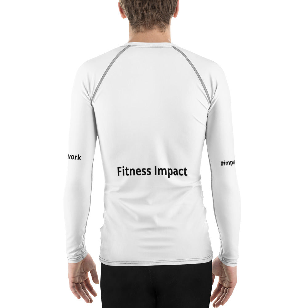 Men's Fitness Impact Sports Rash Guard - Impact Performance Club