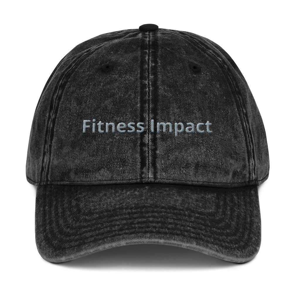 Fitness Impact Vintage Dad Cap - Impact Performance Club