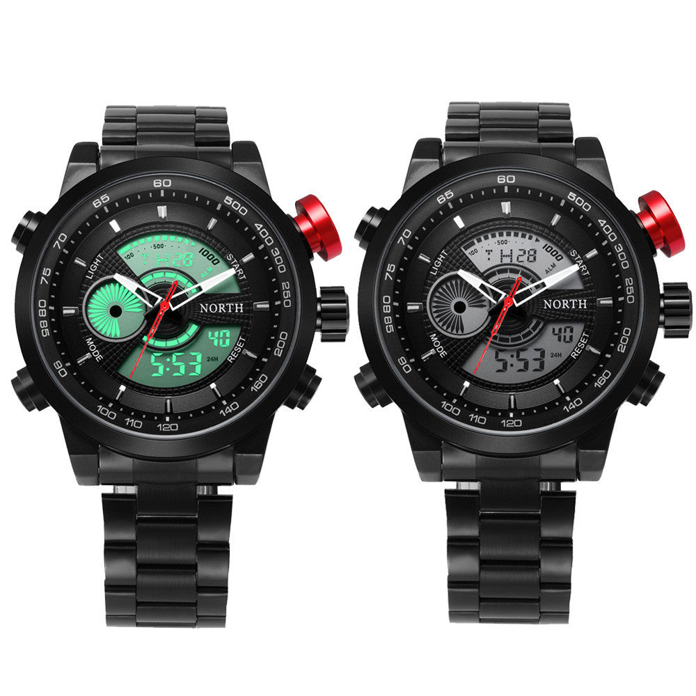 Steel Bracelet Military Watch - Impact Performance Club